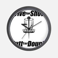 Drive for show putt for dough_Light Wall Clock