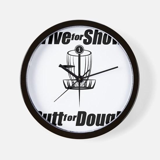 Drive for show putt for dough_Light Wall Clock