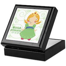 irish princess for the day Keepsake Box