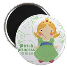 irish princess for the day Magnet