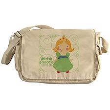 irish princess for the day Messenger Bag