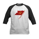 Workers Unite Flag Kids Baseball Jersey