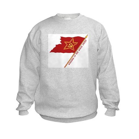 Workers Unite Flag Kids Sweatshirt