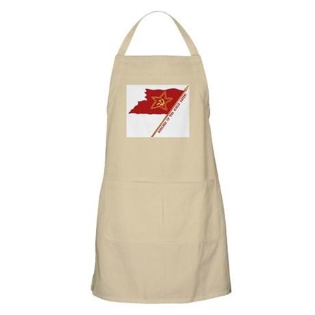 Workers Unite Flag BBQ Apron