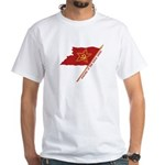 Workers Unite Flag White T-Shirt
