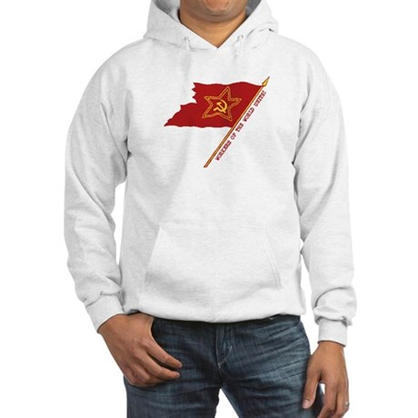 Workers Unite Flag Hooded Sweatshirt