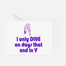 DiveChick Days Greeting Cards (Pk of 10)