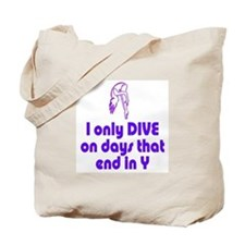 DiveChick Days Tote Bag