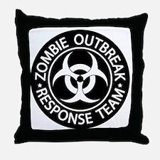 ZRT Black1010 Throw Pillow