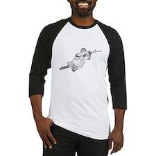 10x10_apparel JB wht text Baseball Jersey