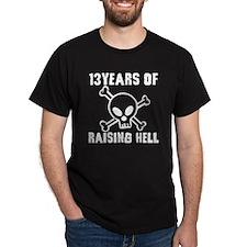 13-black T-Shirt