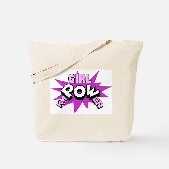 Girl kaPOWer! Tote Bag