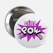 "Girl kaPOWer! 2.25"" Button (10 pack)"