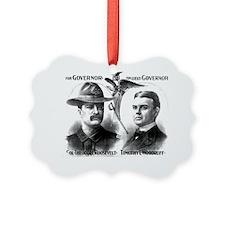 ART Roosevelt for Governor Ornament
