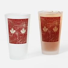 FlipFlopTemplate5 Drinking Glass