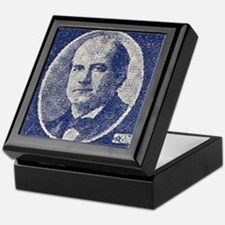 ART WJ BRYAN for PRESIDENT Keepsake Box