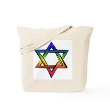 LGBT Star Of David Tote Bag