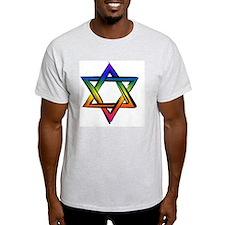 LGBT Star Of David T-Shirt