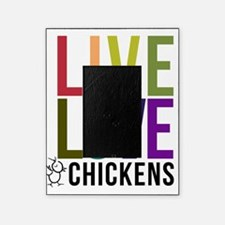 live love chickens04 Picture Frame