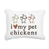 Chicken coop Rectangle Canvas Pillows