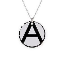 600px-Anarchy-symbol_svg Necklace