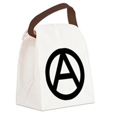 600px-Anarchy-symbol_svg Canvas Lunch Bag