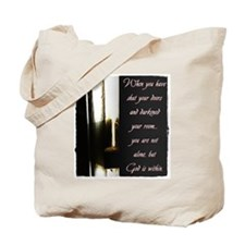 You are Not Alone Tote Bag