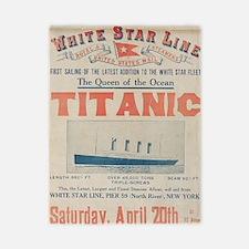Titanic Ad Card BIG Twin Duvet