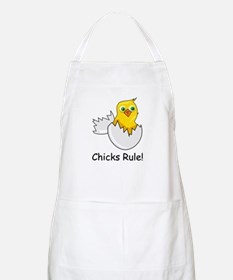CHICKS RULE BBQ Apron