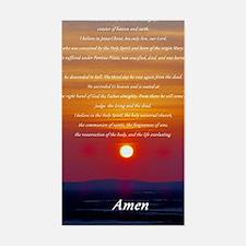 apostles creed Decal