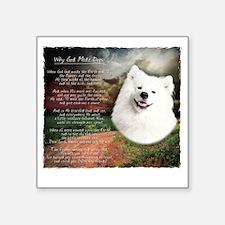 "godmadedogs Square Sticker 3"" x 3"""
