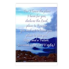 Jeremiah 29 11 Postcards (Package of 8)