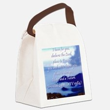Jeremiah 29 11 Canvas Lunch Bag