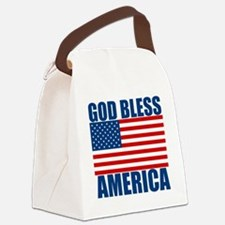 GODBLESSAMERICA Canvas Lunch Bag