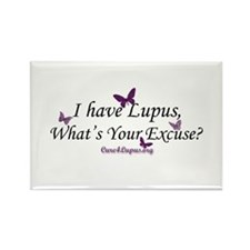 What's Your Excuse Rectangle Magnet