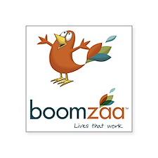 "boomzaa-boomgono-gym-bag Square Sticker 3"" x 3"""