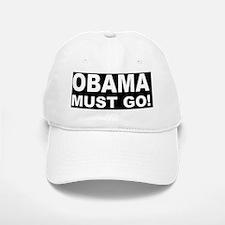 anti Obama Obama must god Baseball Baseball Cap