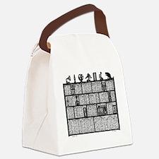 Bookshelf6-shirt Canvas Lunch Bag