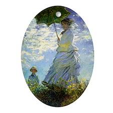 RM Monet 9 Oval Ornament