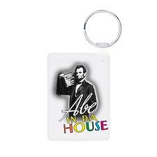 Abe In Da House Keychains