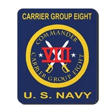 Carrier Group Eight<BR>Mousepad