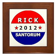 santorum2012-1 Framed Tile