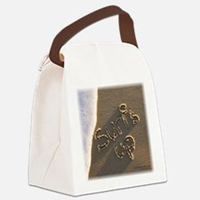 surfs up Canvas Lunch Bag