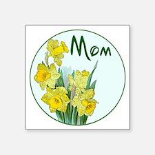 "daf-Mom-C10trans Square Sticker 3"" x 3"""