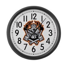 Motorhead Large Wall Clock