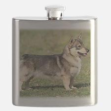 Swedish Vallhund 9Y767D-057 Flask