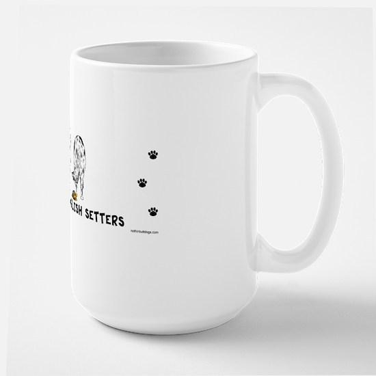 EnglishSetterBumper Large Mug
