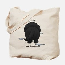 NewfieDroolMirrorLight Tote Bag