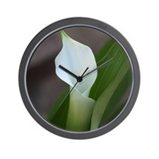 Cala Lily (2) Wall Clock