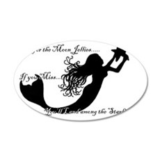 starfishestshirt 35x21 Oval Wall Decal